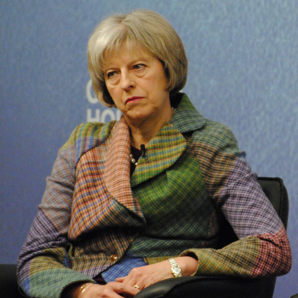 Theresa May (By Chatham House (Countering Terrorism: A Global Perspective) [CC BY 2.0 (http://creativecommons.org/licenses/by/2.0)], via Wikimedia Commons)