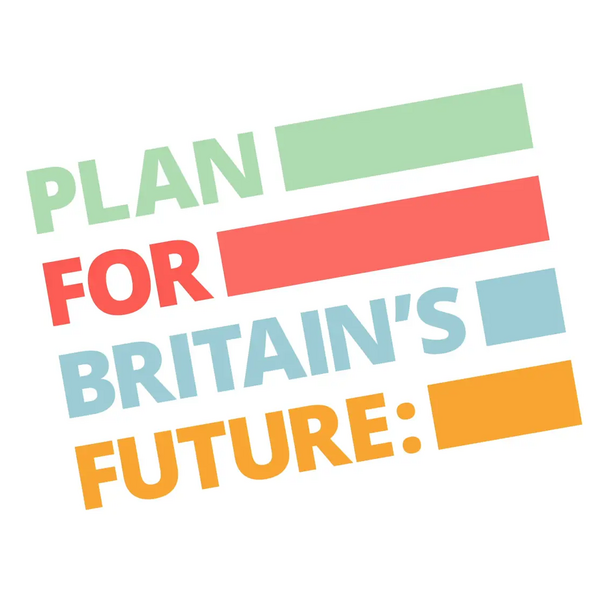 Plans fro Britain's future