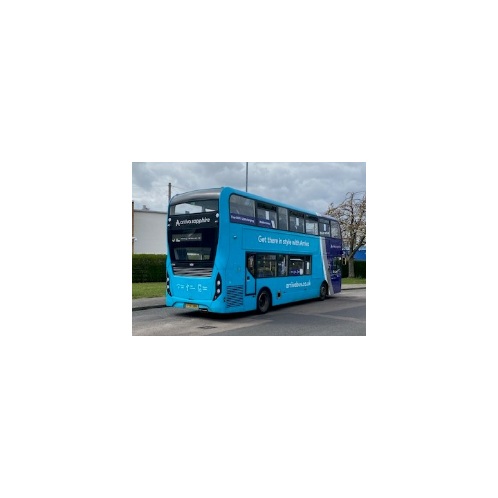 31 Bus in Oadby
